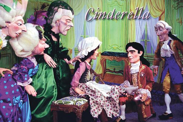 Cinderella Puppet Show at Scarsdale Congregational Church