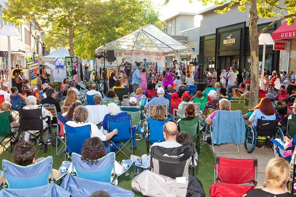 Free Outdoor Concerts - The Nerds at Cross County Shopping Center
