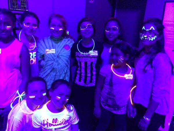 Galactic Jump N Glow at Bounce Trampoline Sports