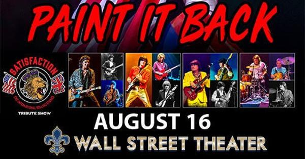 Satisfaction - The Rolling Stones Show at Wall Street Theater