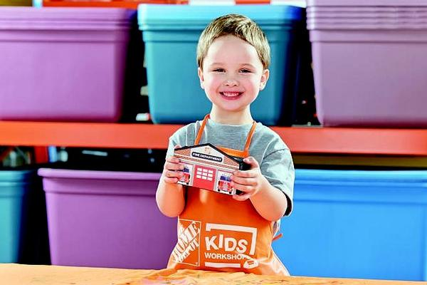 Kids Workshop at Home Depot