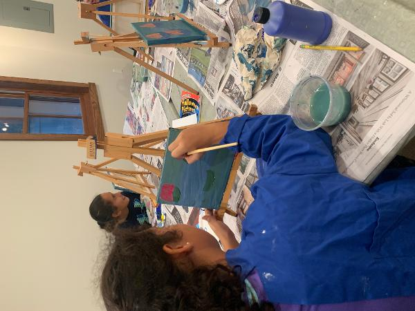 Kids Paint Night at Railyard Arts Studio