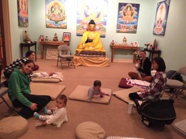 Parents and Babies Meditation Class at Kadampa Meditation Center Long Island