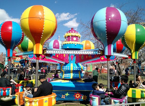 Apple Blossom Children's Carnival at Queens County Farm Museum