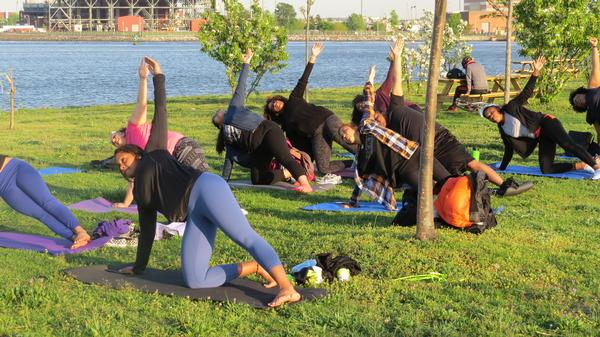 Fall Yoga for Runners at Randall's Island Park