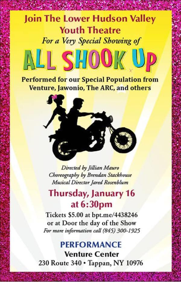 All Shook Up Special Performance presented by Lower Hudson Valley Youth Chorus at Venture Center