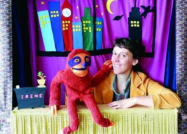 Aunt Irene's Puppet Talk Show: Lily Silly Puppets at Southampton Arts Center