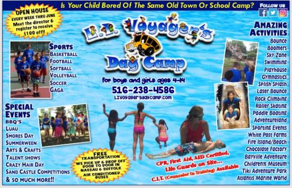 Open House at Massapequa Bowl at Long Island Voyagers Day Camp