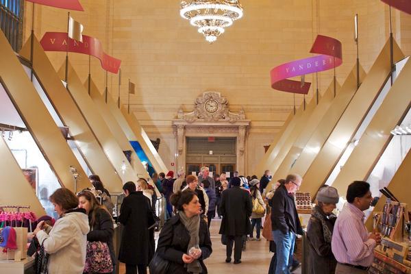 Grand Central Terminal's Annual Holiday Fair at Grand Central Terminal, Vanderbilt Hall