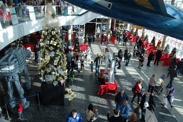 Long Island Festival of Trees at Cradle of Aviation Museum