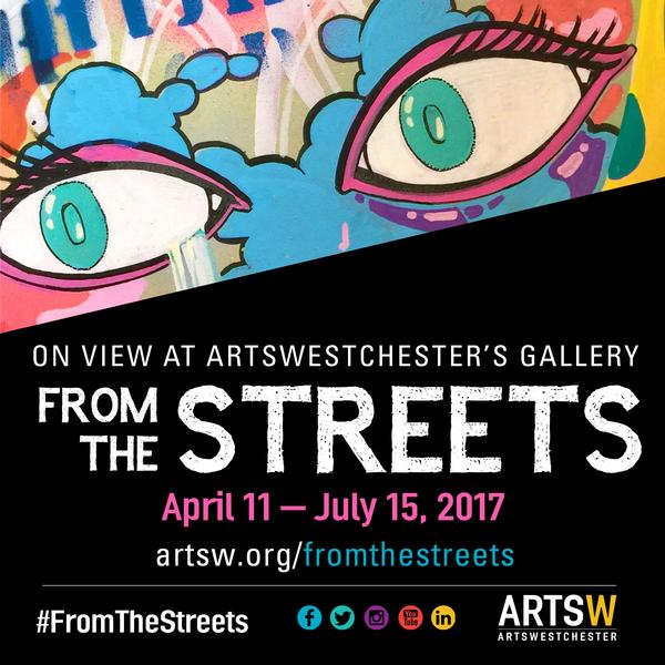 "Opening Reception: ""From the Streets"" at ArtsWestchester"