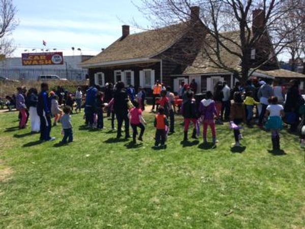 Easter Egg Hunt at The Wyckoff House Museum