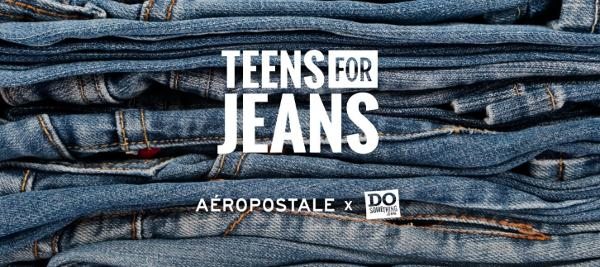 Teens for Jeans at Aeropostale