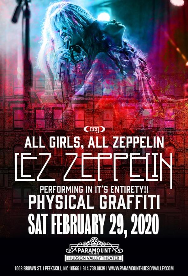 Led Zeppelin Tribute Lez Zeppelin performs Physical Graffiti + More at Paramount Hudson Valley