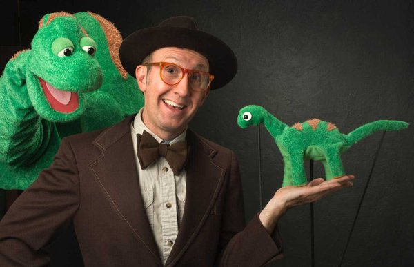 Goat on a Boat: 'The Dinosaur Show' at Bay Street Theater