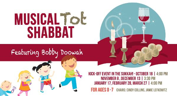 Tot Shabbat at Chabad of the Rivertowns