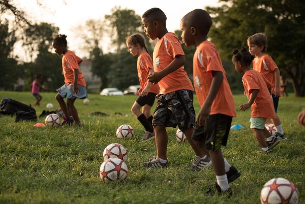 Free Clinic - Soccer class for children 5, 6 and 7 year olds at Cedar Creek Park