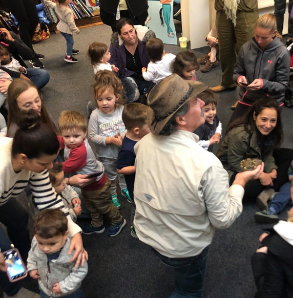 Storytime with Jungle Bob's Reptile World at Book Revue