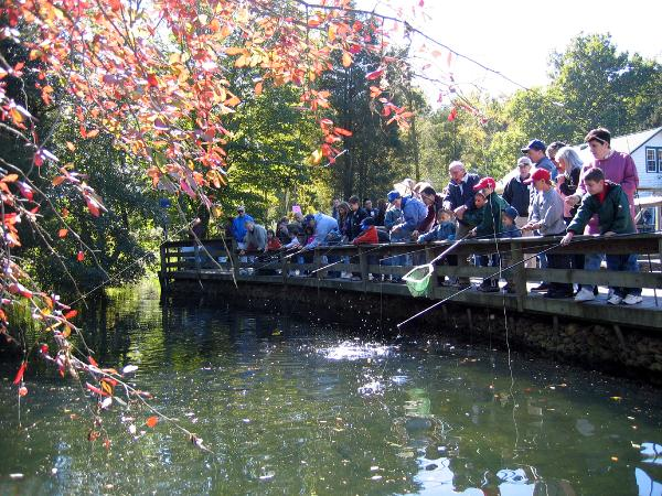 Girl Scout Day at Cold Spring Harbor Fish Hatchery & Aquarium
