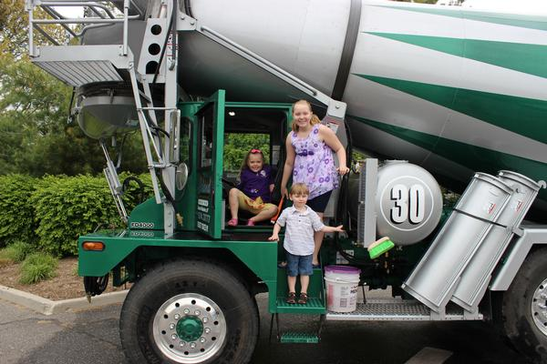 Touch-a-Truck at Middle Country Public Library
