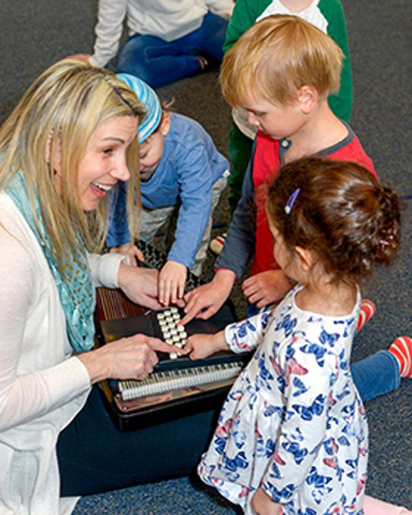 Open House for Early Childhood Program at Hoff-Barthelson Music School