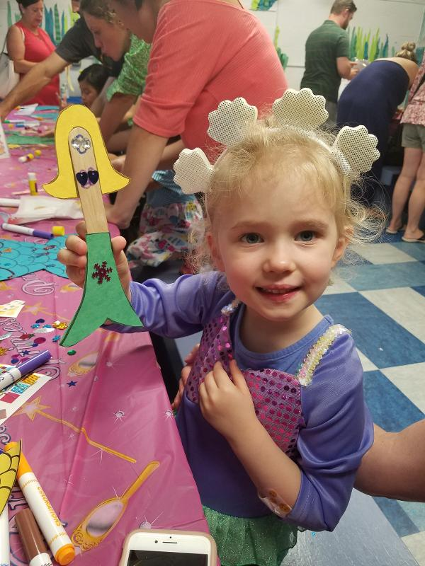 Mermaid Tea Party at The Whaling Museum and Education Center