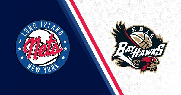 Long Island Nets vs. Erie Bayhawks at NYCB Live