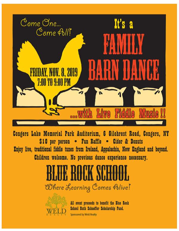 Family Barn Dance at Congers Lake Memorial Park Auditorium