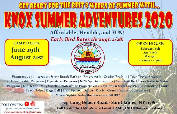 Summer Camp Open House at Knox Summer Adventures