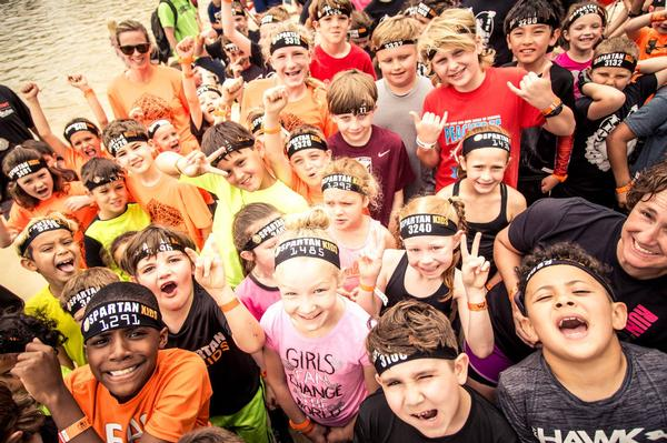 Stamford Spartan Kids Race at Mill River Park