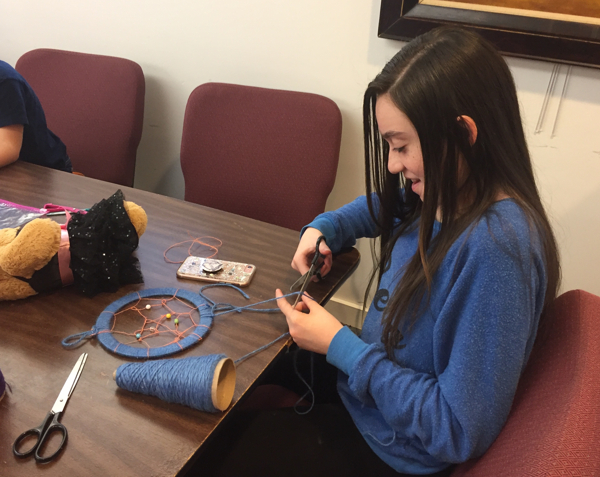 Children's Winter Recess Programs: Make a Dreamcatcher at Walt Whitman Birthplace State Historic Site