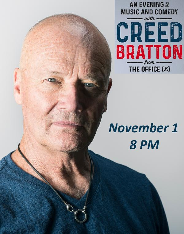 An Evening of Music and Comedy with Creed Bratton from The Office at Paramount Hudson Valley Theater