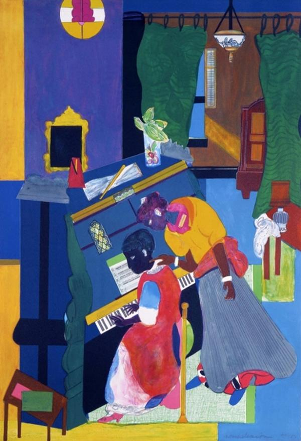 Romare Bearden: Storyteller at Emily Lowe Gallery, Hofstra University Museum