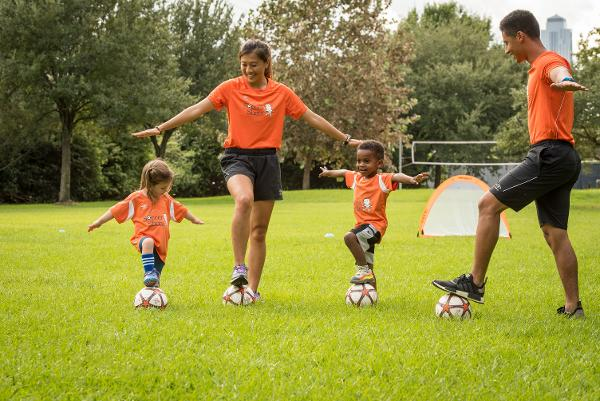 Free Clinic - Soccer class for 3 and 4 year olds at Silas Wood Sixth Grade Center