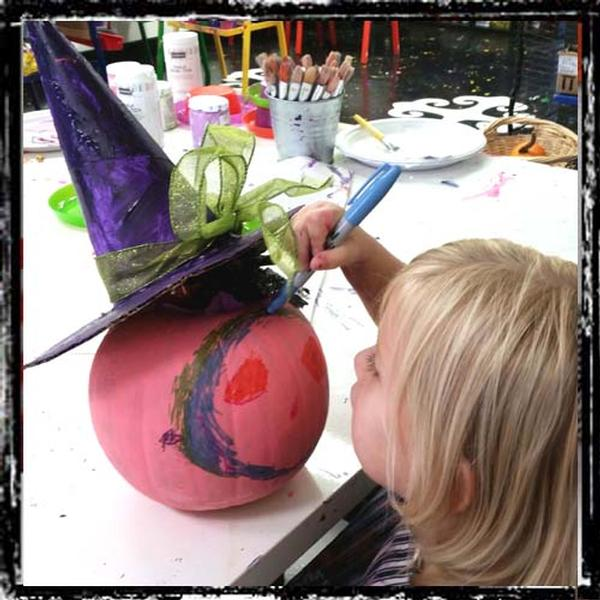 Pumpkin Painting, Ages 4-6 at Picasso Kidz