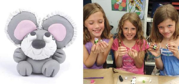 Kids Workshop: Make a Koala Bear with Polymer Clay at The Rye Arts Center