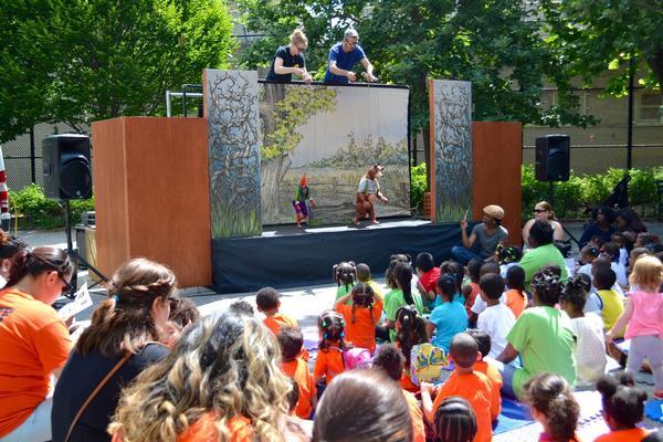 CityParks Puppetmobile: 'Cinderella Samba' at Various NYC parks throughout Manhattan