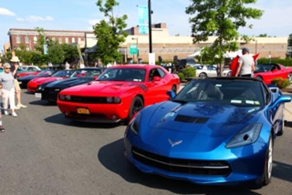 Nyack Exotic Car Show at Downtown Nyack, NY