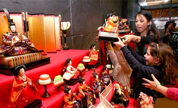 Hinamatsuri (Doll's Festival) at Japan Society