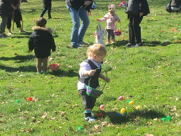 TNF's Easter Egg Hunt and Bunny Fun at Sakura Park