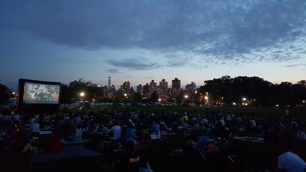 Outdoor Movie Night at Randall's Island Park