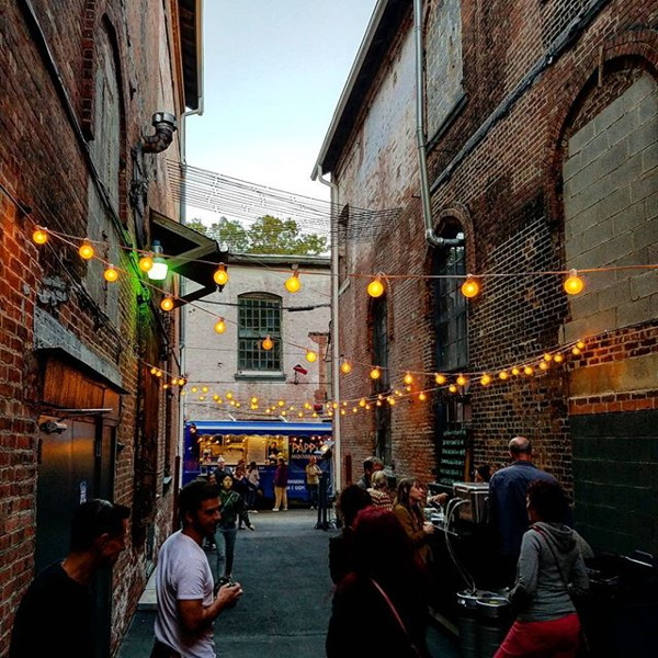 Brick Alley Block Party at GARNER Arts Center