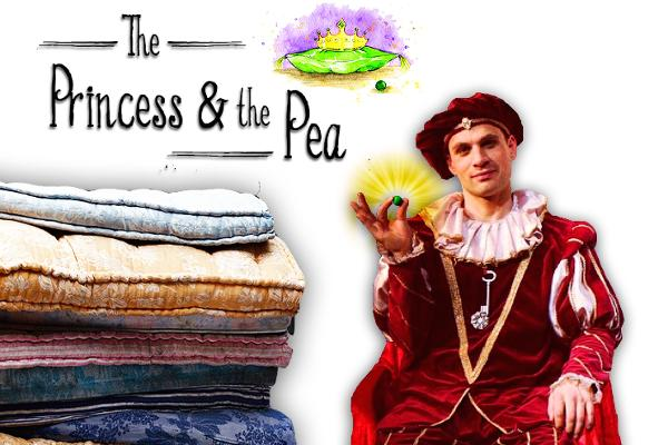 The Princess and the Pea at Galli Theater