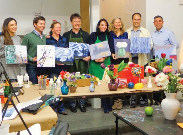 Loosen Up and Paint: A BYOB Night Out! at The Rye Arts Center