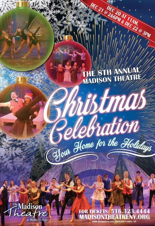 Christmas Celebration at Madison Theatre at Molloy College