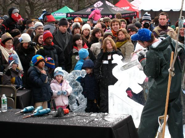 Winter Jam at Rumsey Playfield at Central Park