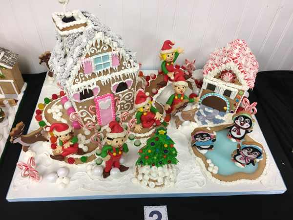 7th Annual Long Island Gingerbread & Chocolate House Competition at Chocolate Duck