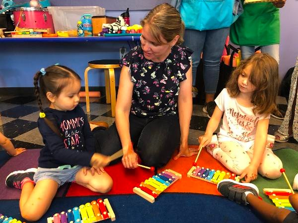Music and Movement at Long Island Children's Museum