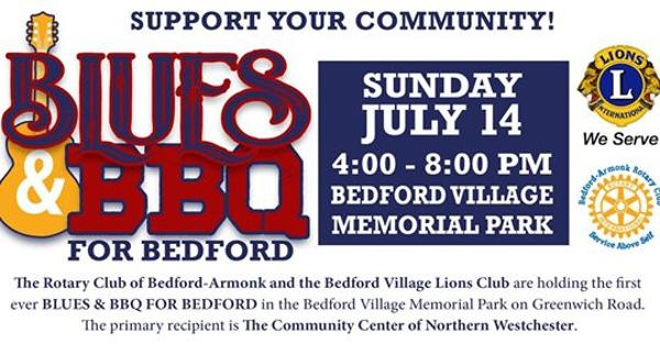 Blues & BBQ for Bedford at Bedford Village Memorial Park