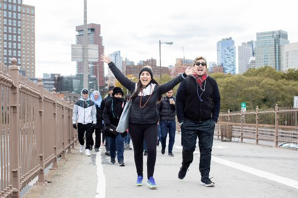 Lung Cancer Research Foundation's Brooklyn Free to Breathe Walk at Cadman Plaza Park